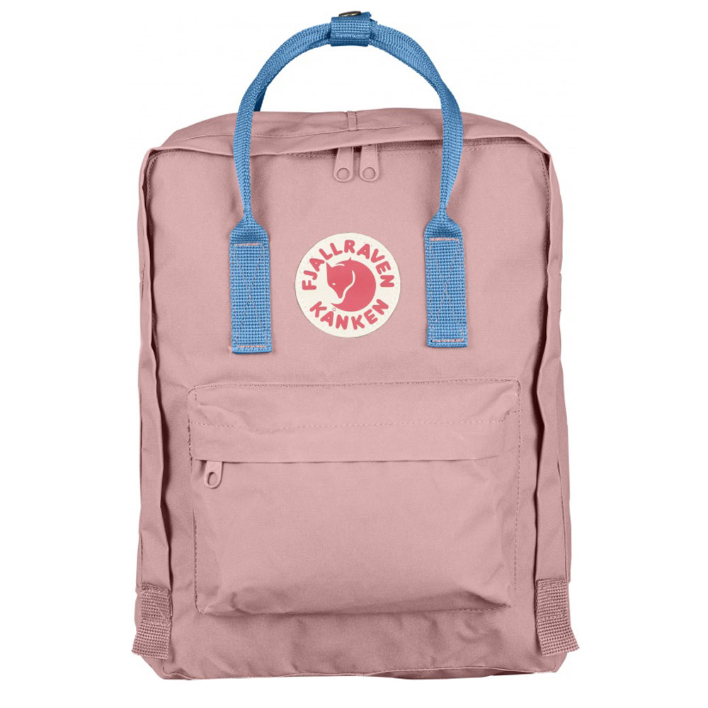 FjallRaven Kanken Rugzak Pink-Air Blue