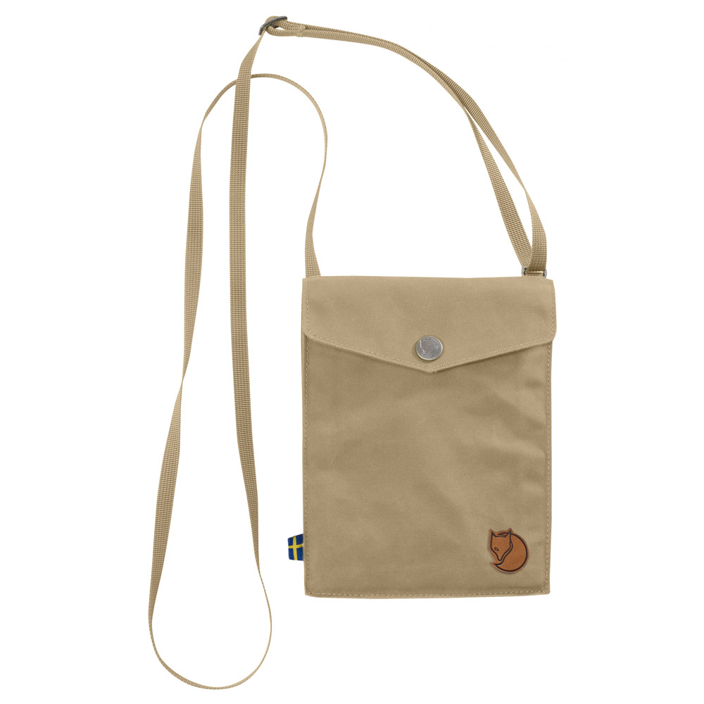 FjallRaven Pocket Schoudertas Sand