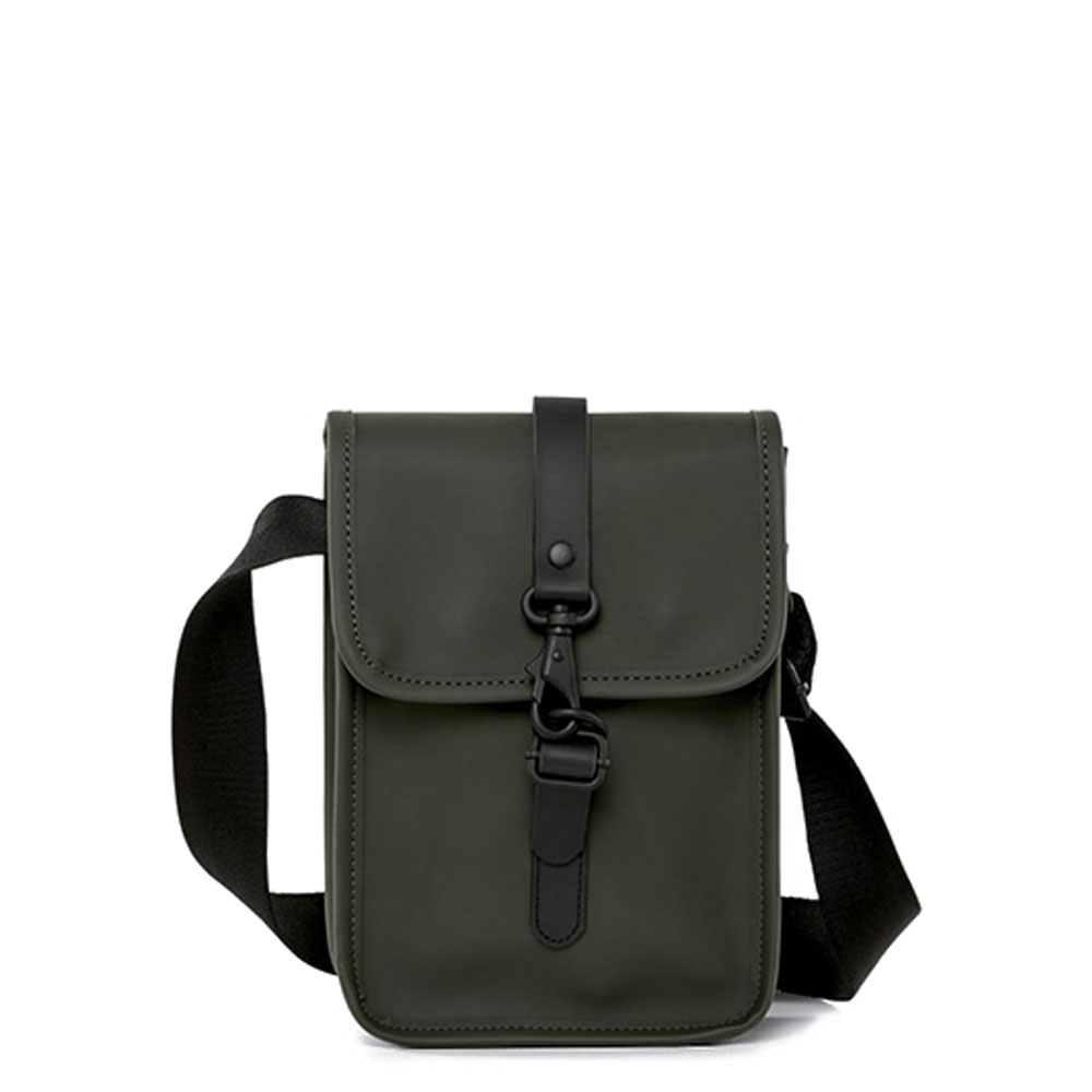 Rains Original Flight Bag Schoudertas Green