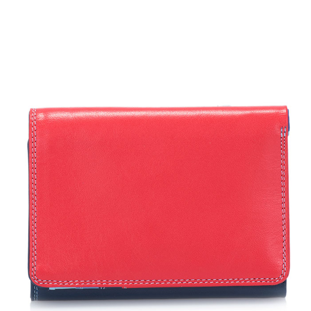 Mywalit Medium Tri-Fold Wallet Portemonnee Royal