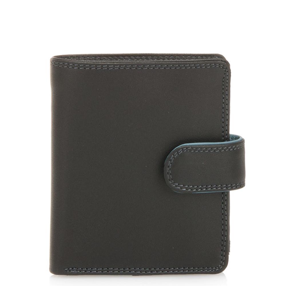 Mywalit Tri-Fold Tab Wallet Portemonnee Black Grey
