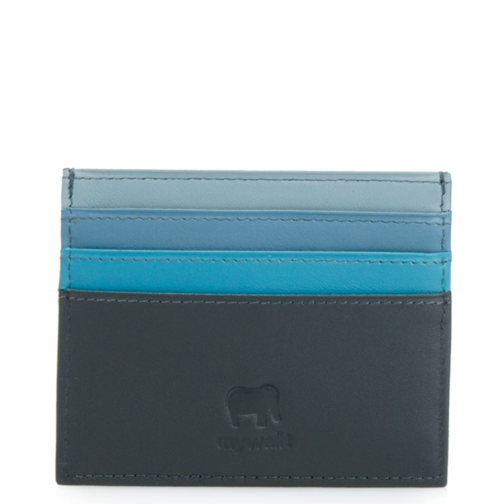 Mywalit Accessoires Mywalit Mywalit Double Sided Credit Card Holder Black Grey