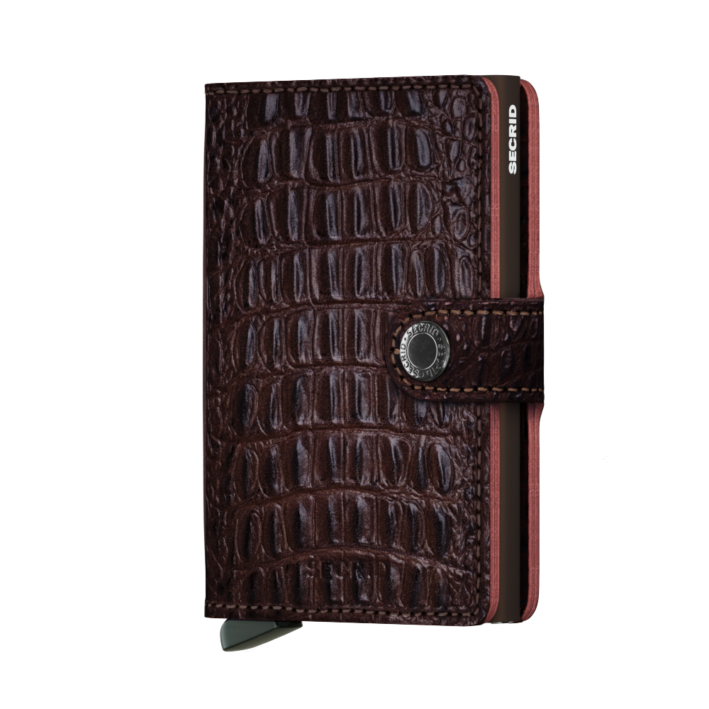 Secrid Mini Wallet Portemonnee Nile Brown