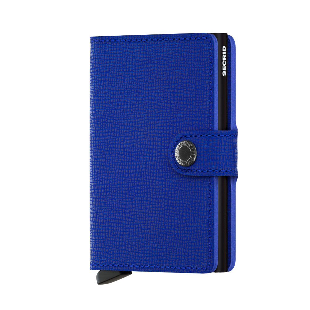 Secrid Mini Wallet Portemonnee Crisple Blue Black