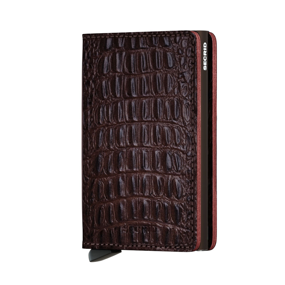 Secrid Slim Wallet Portemonnee Nile Brown