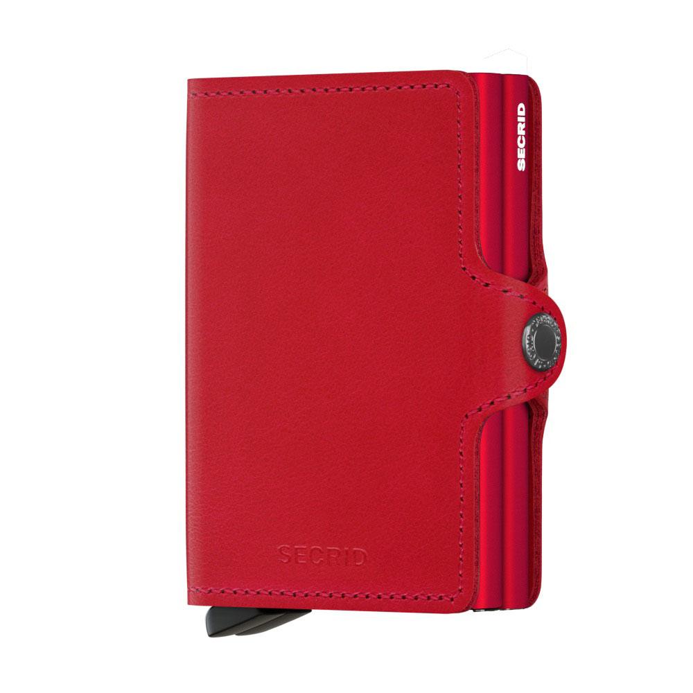 Secrid Twin Wallet Portemonnee Original Red Red