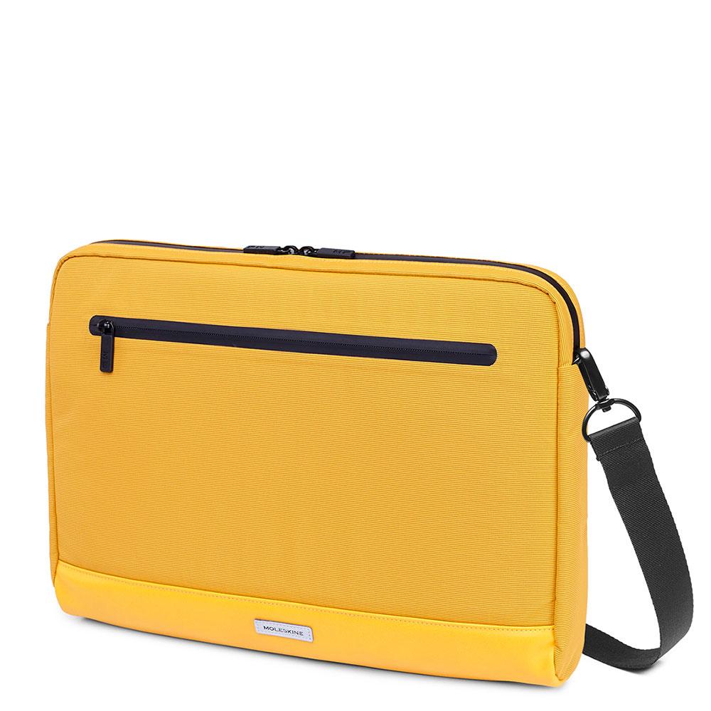 Moleskine Metro Horizontal Device Bag 15 Orange Yellow