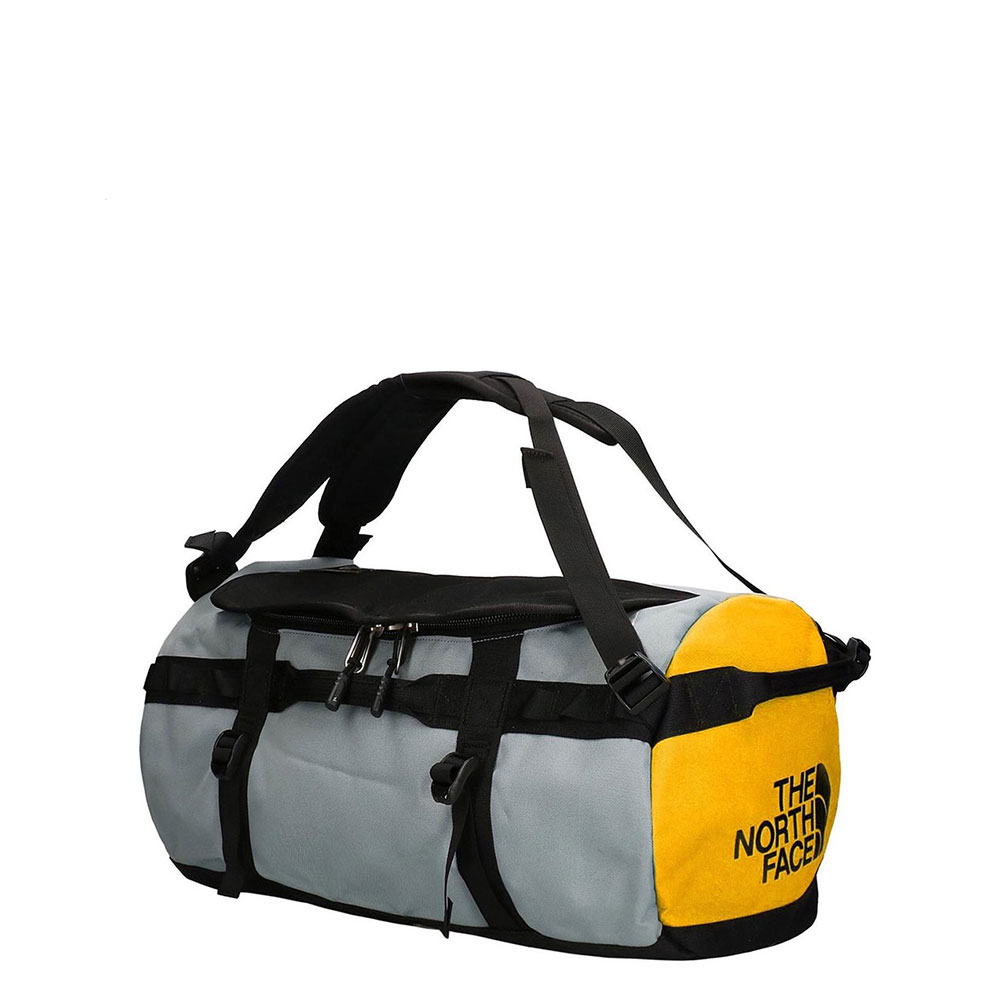 The North Face Gilman Duffel S TNF Black/ Mid Grey/ TNF Yellow