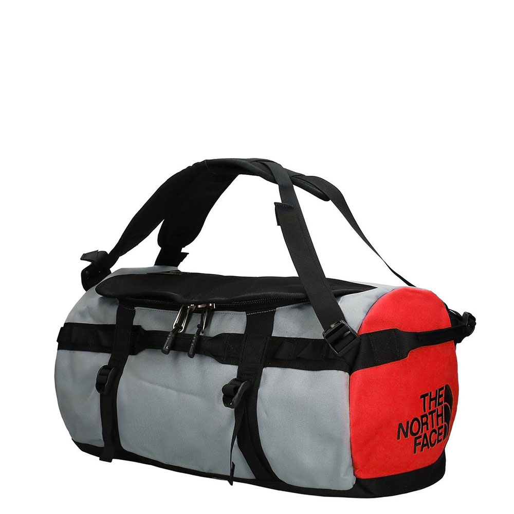 The North Face Gilman Duffel M TNF Black/ Mid Grey/ Fiery Red