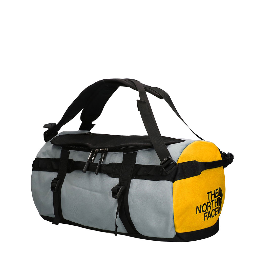 The North Face Gilman Duffel M TNF Black/ Mid Grey/ TNF Yellow