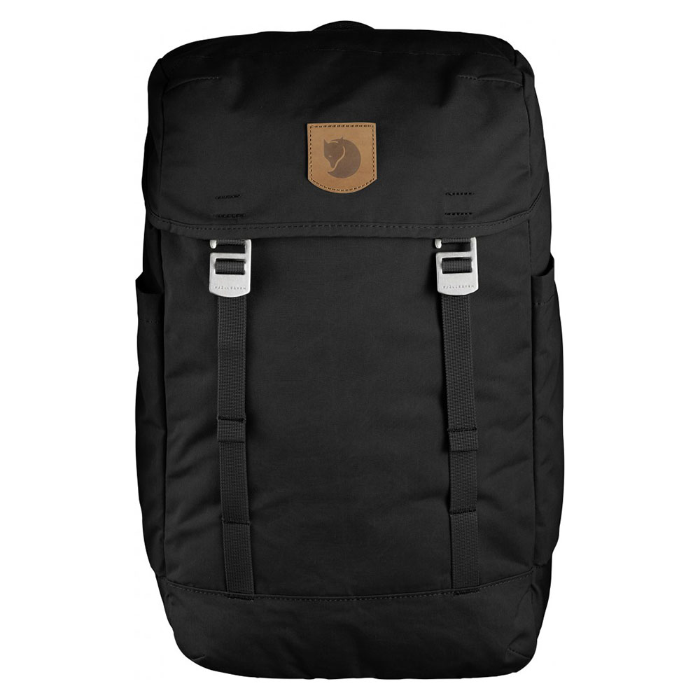 FjallRaven FjallRaven Greenland Top Backpack Black Laptop Backpacks