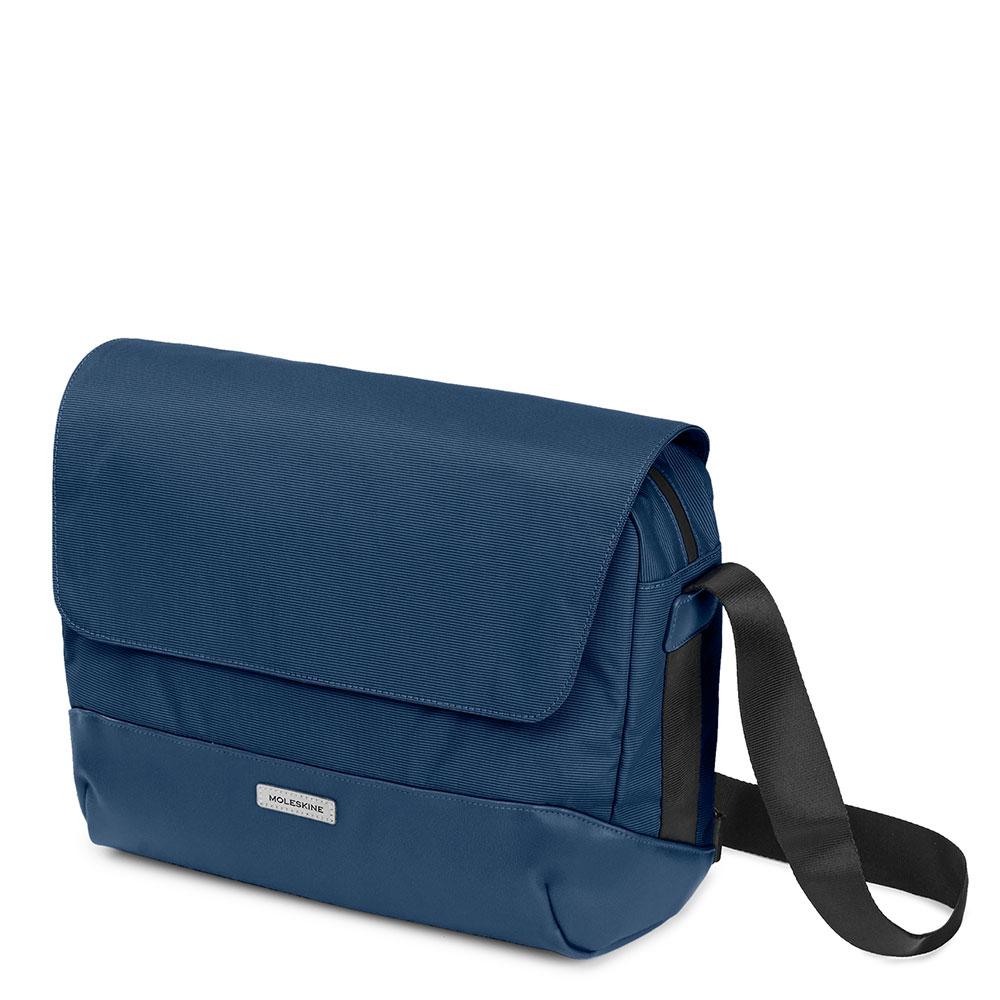 Moleskine Metro Slim Messenger Bag Sapphire Blue