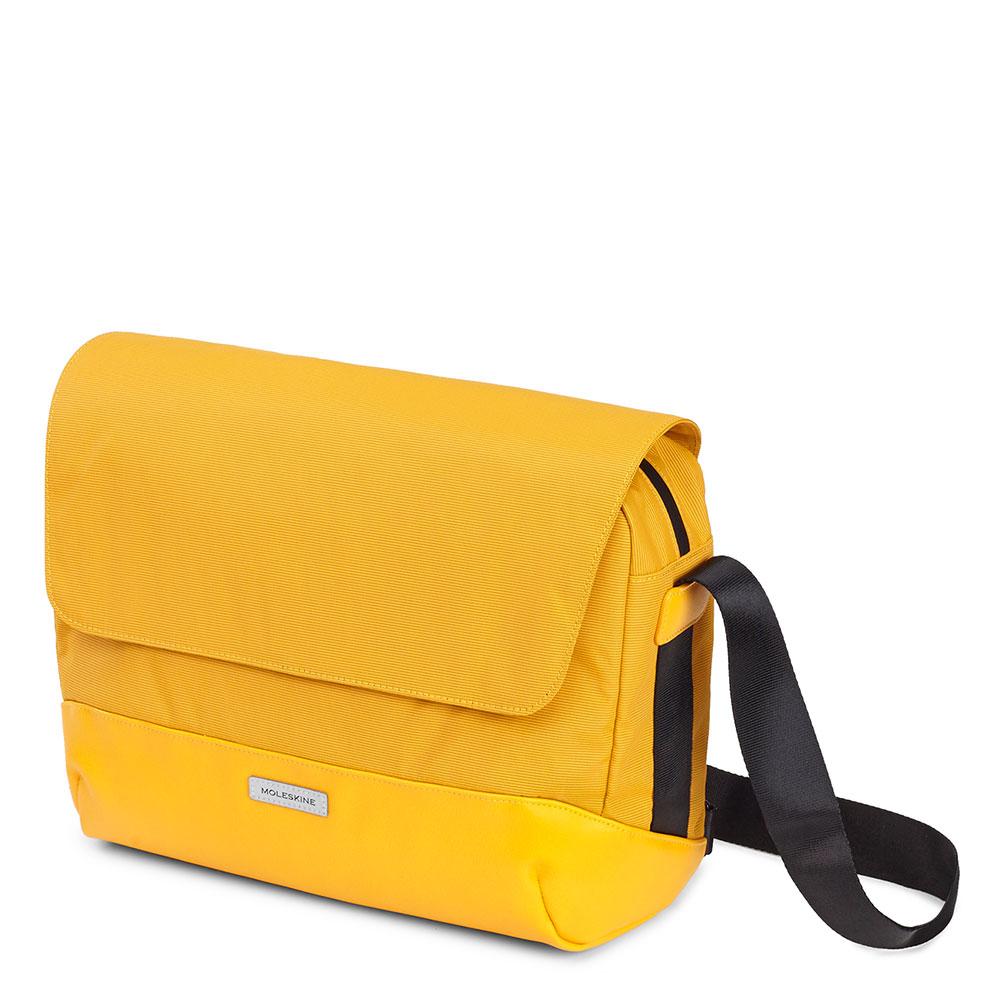 Moleskine Metro Slim Messenger Bag Orange Yellow