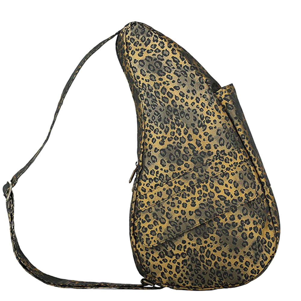 The Healthy Back Bag The Classic Collection Textured Nylon S Leopard Luxe Gold