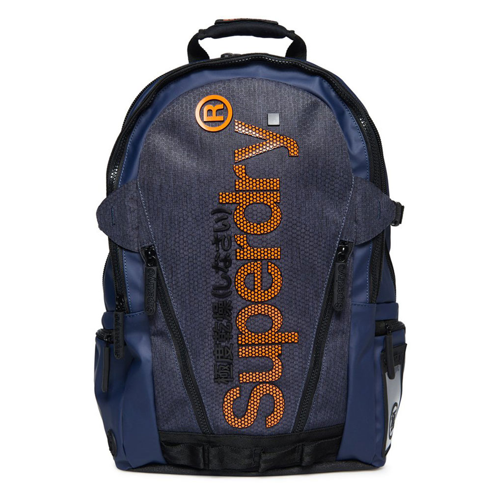 Superdry Tarp Honeycomb Backpack Dark Navy