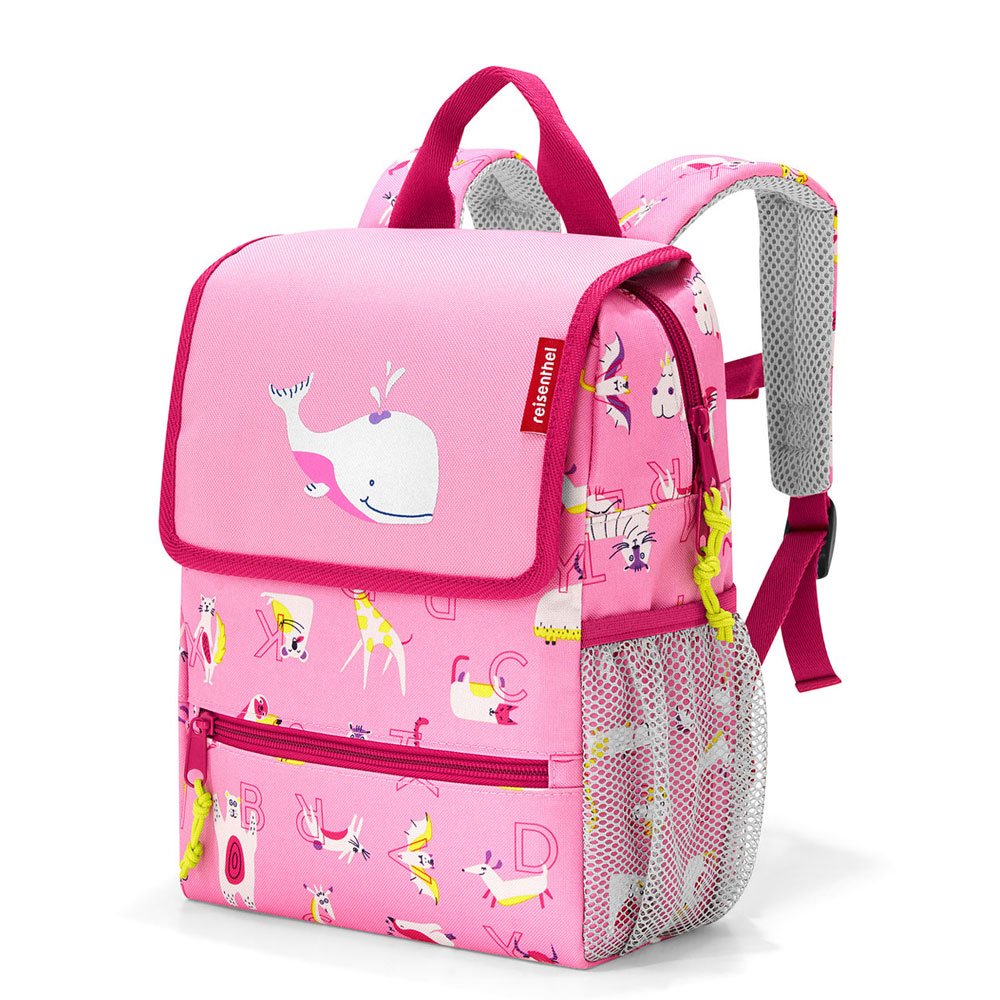 Reisenthel Backpack Kids ABC Friends Pink