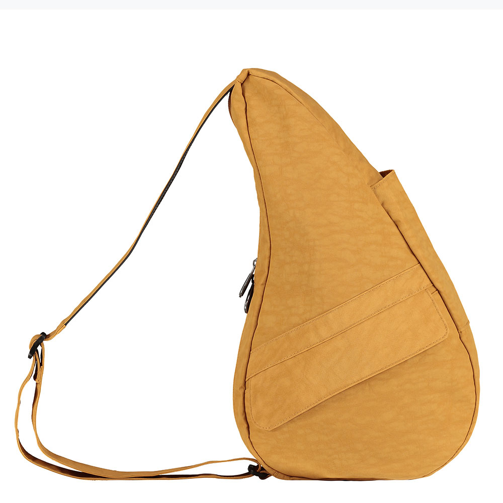 The Healthy Back Bag The Classic Collection Textured Nylon S Inca Gold