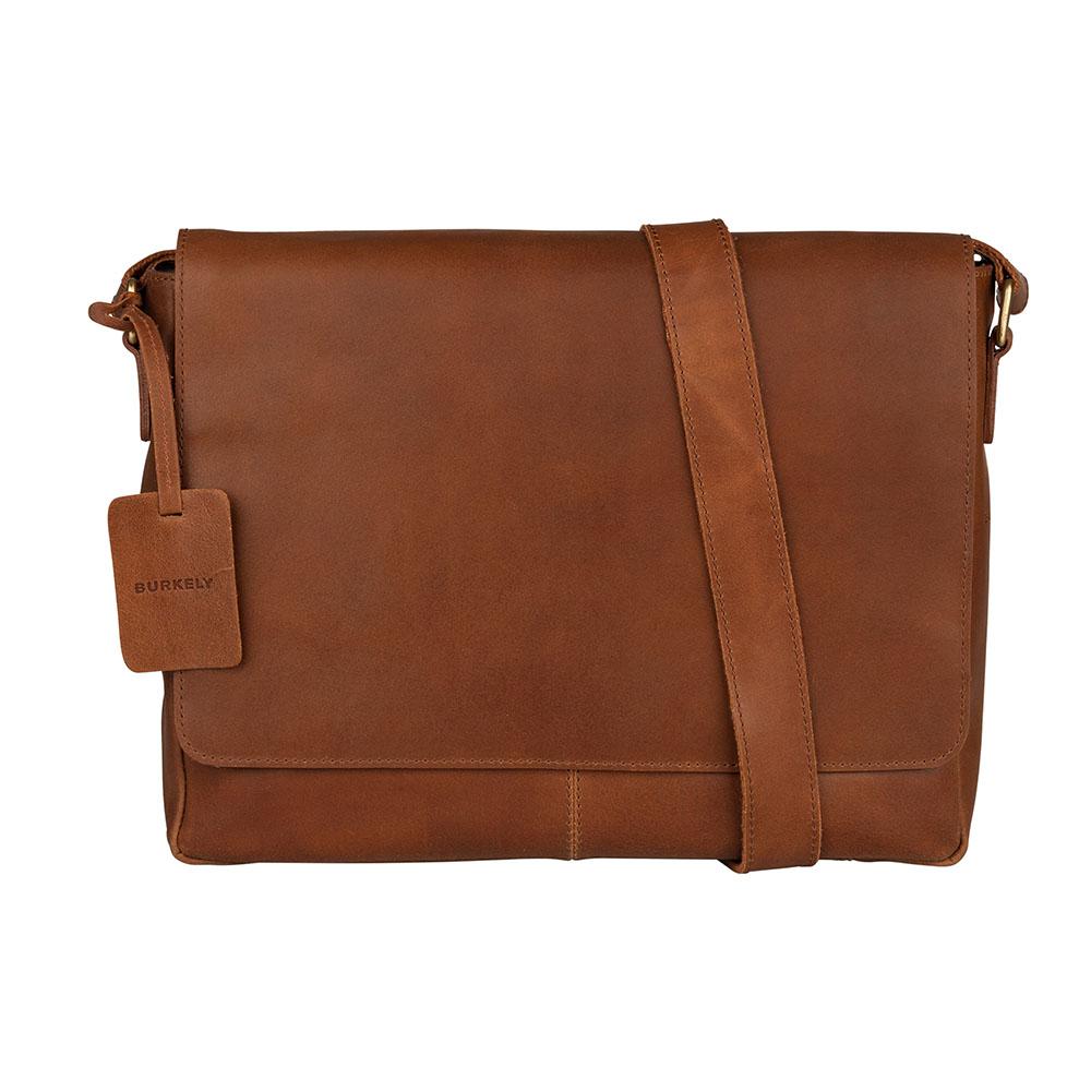 Burkely Vintage Juul Messenger Bag Cognac