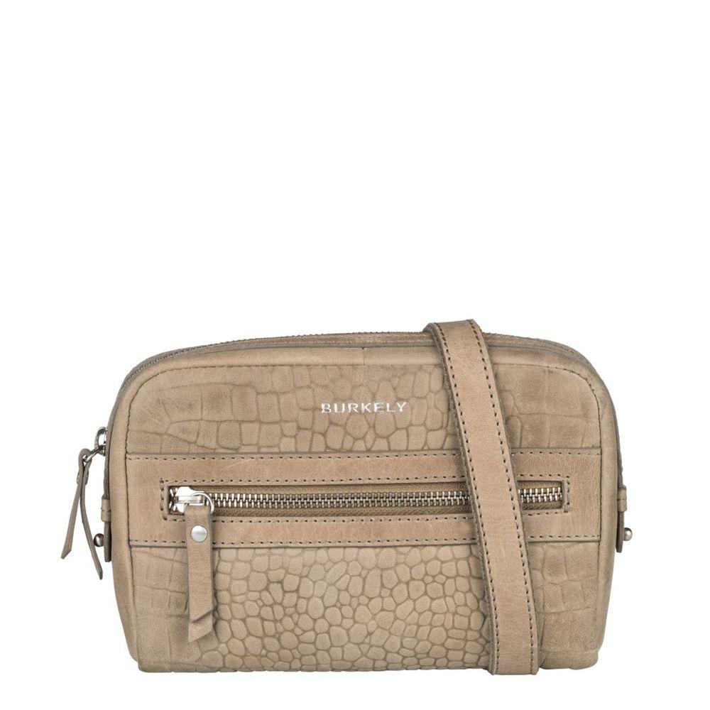 Burkely Croco Cody 5-Way Bag Dark Grey