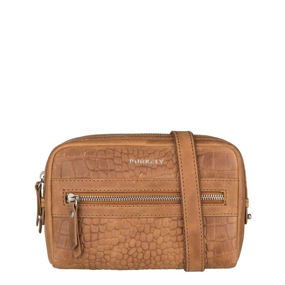 Burkely Croco Cody 5-Way Bag Cognac