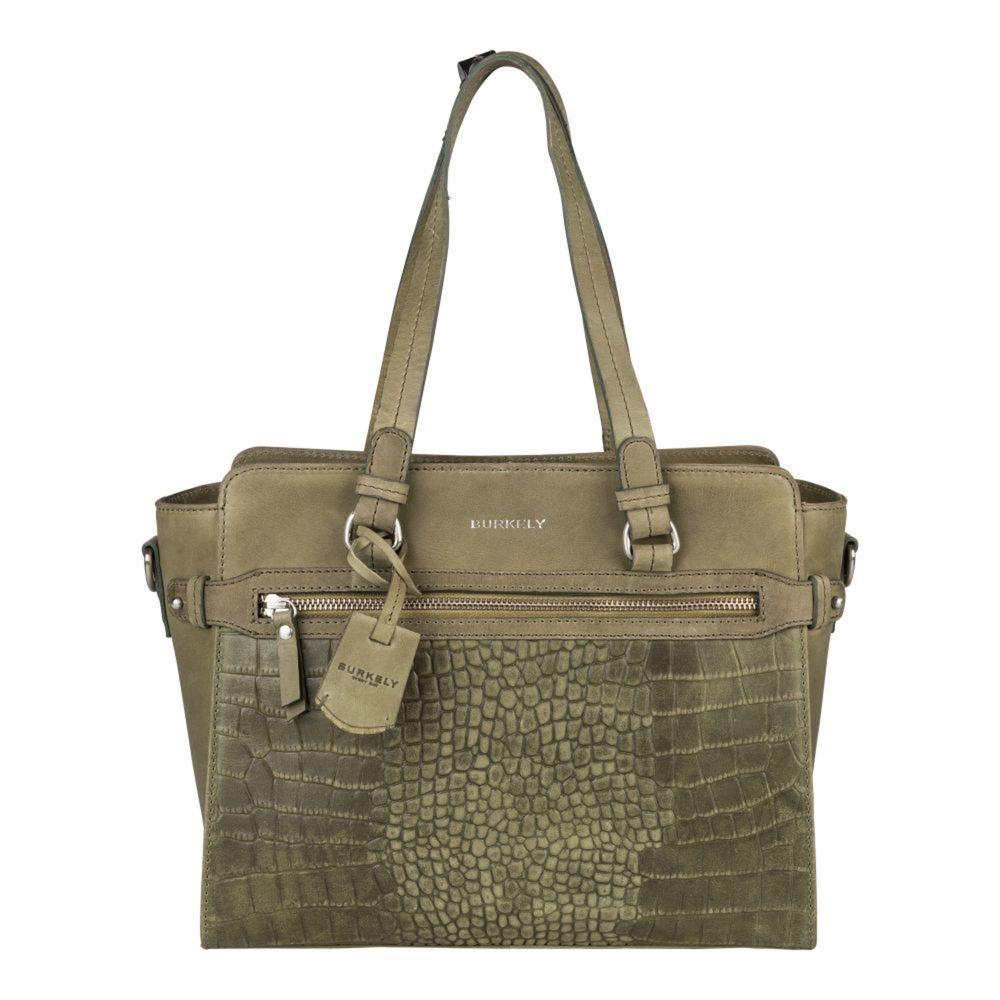 Burkely Croco Cody Handbag S Light Green