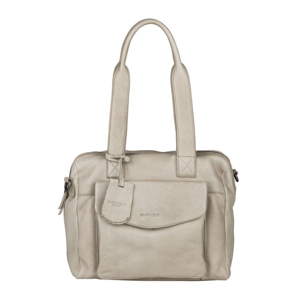 Burkely Just Jackie Handbag S Light Grey