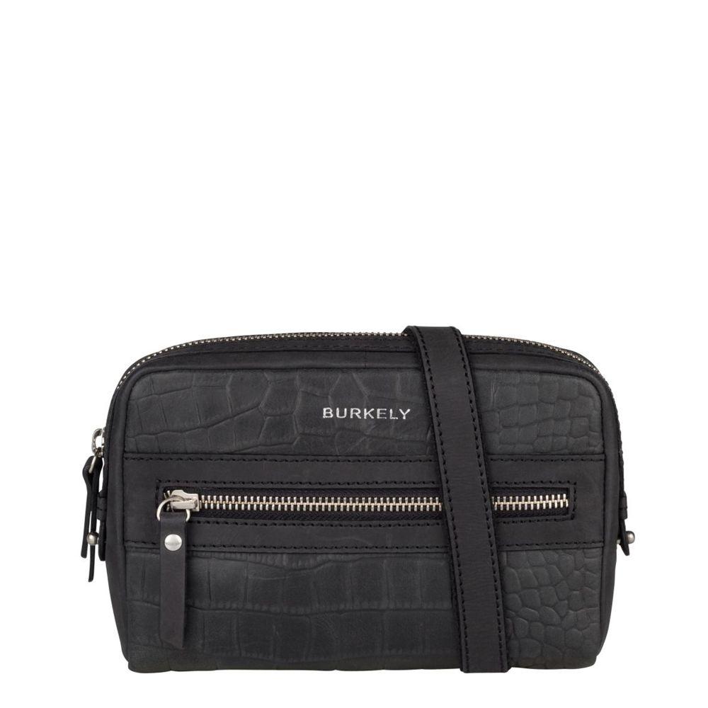 Burkely Croco Cody 5-Way Bag Black