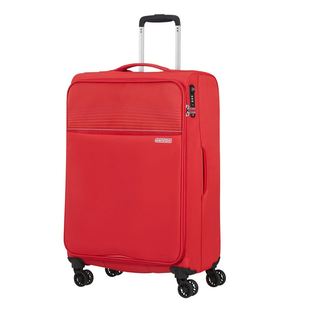 American Tourister Lite Ray Spinner 69 Chili Red