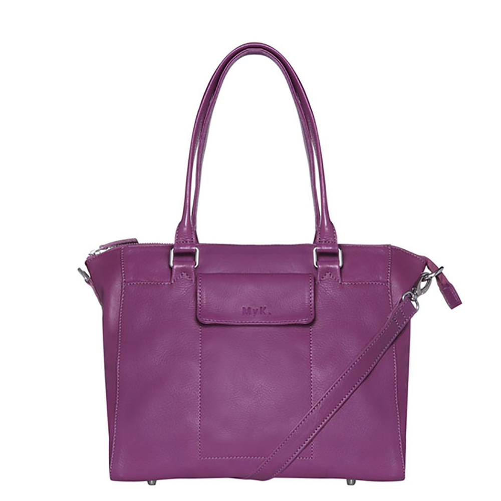 MyK Bag Marlin Plum