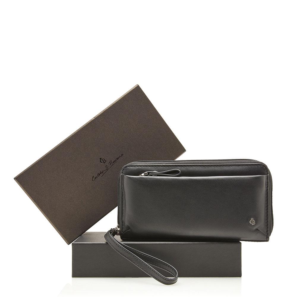 Castelijn & Beerens Giftbox Dames Ritsportemonnee RFID Black