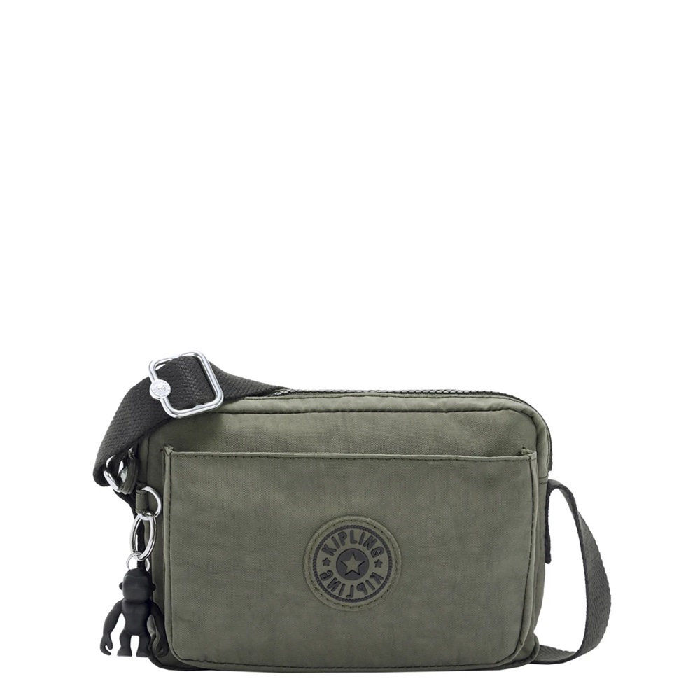 Kipling Abanu Mini Crossbody Green Moss