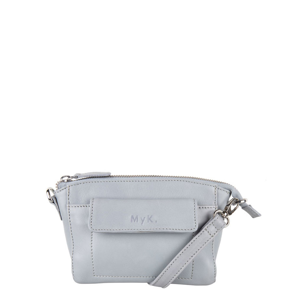 MyK Bag Carlton Crossover Silver Grey