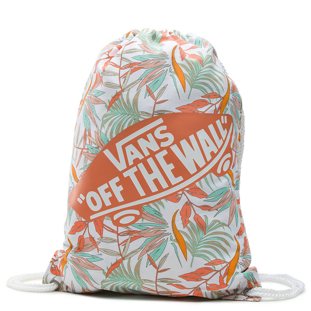 Casual Rugtassen Vans Benched Bag Novelty White California Floral