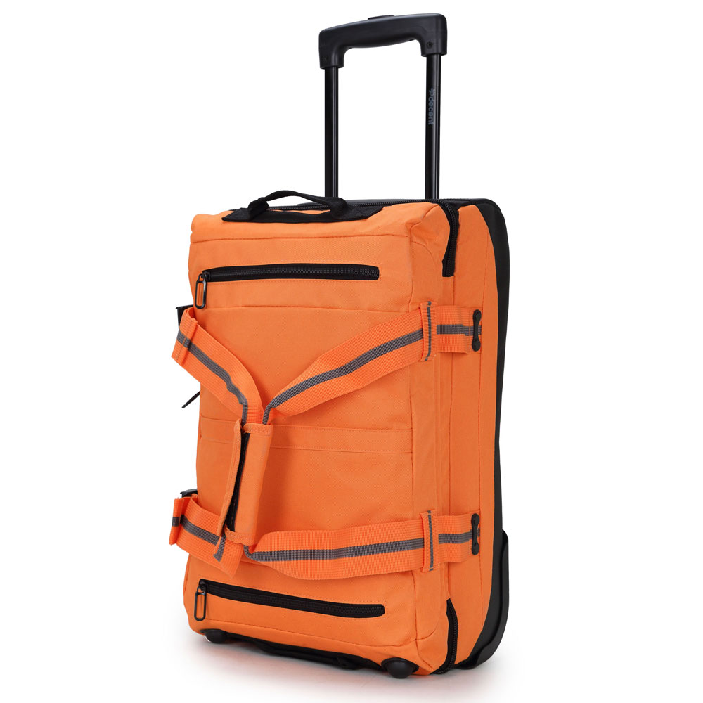 Decent Tobi-Line handbagage trolley donkerblauw