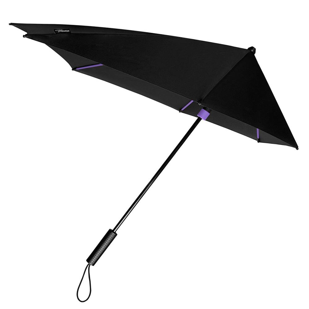 Impliva STORMaxi Stormparaplu Special Edition Black Purple