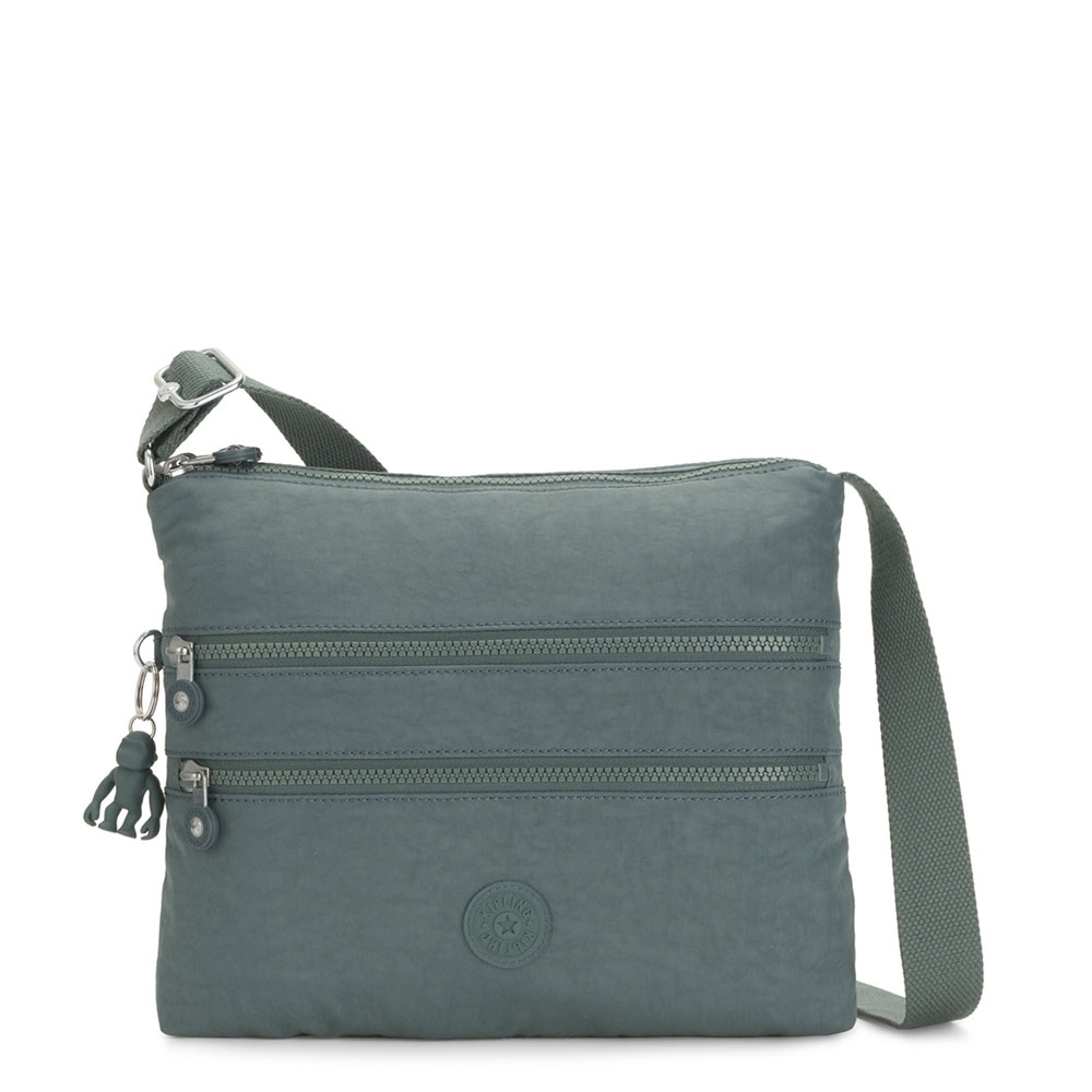 Kipling Alvar Schoudertas Light Aloe