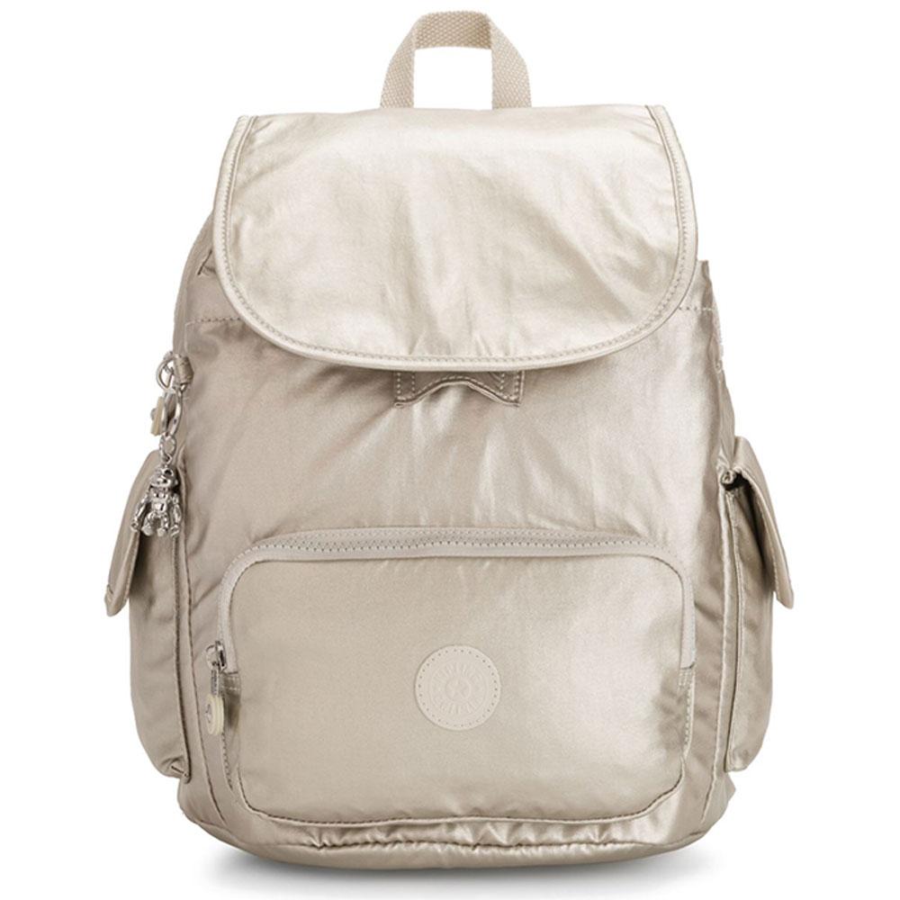 Kipling City Pack S Backpack Cloud Metal