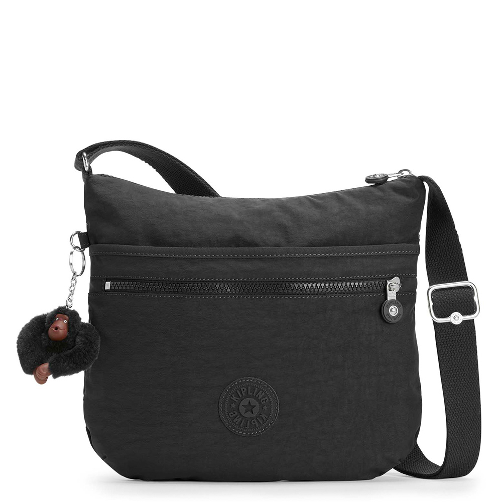 Schoudertassen Kipling Arto Schoudertas True Black
