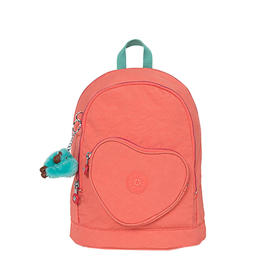 Kipling Heart Backpack Kinder Rugtas Peachy Pink C