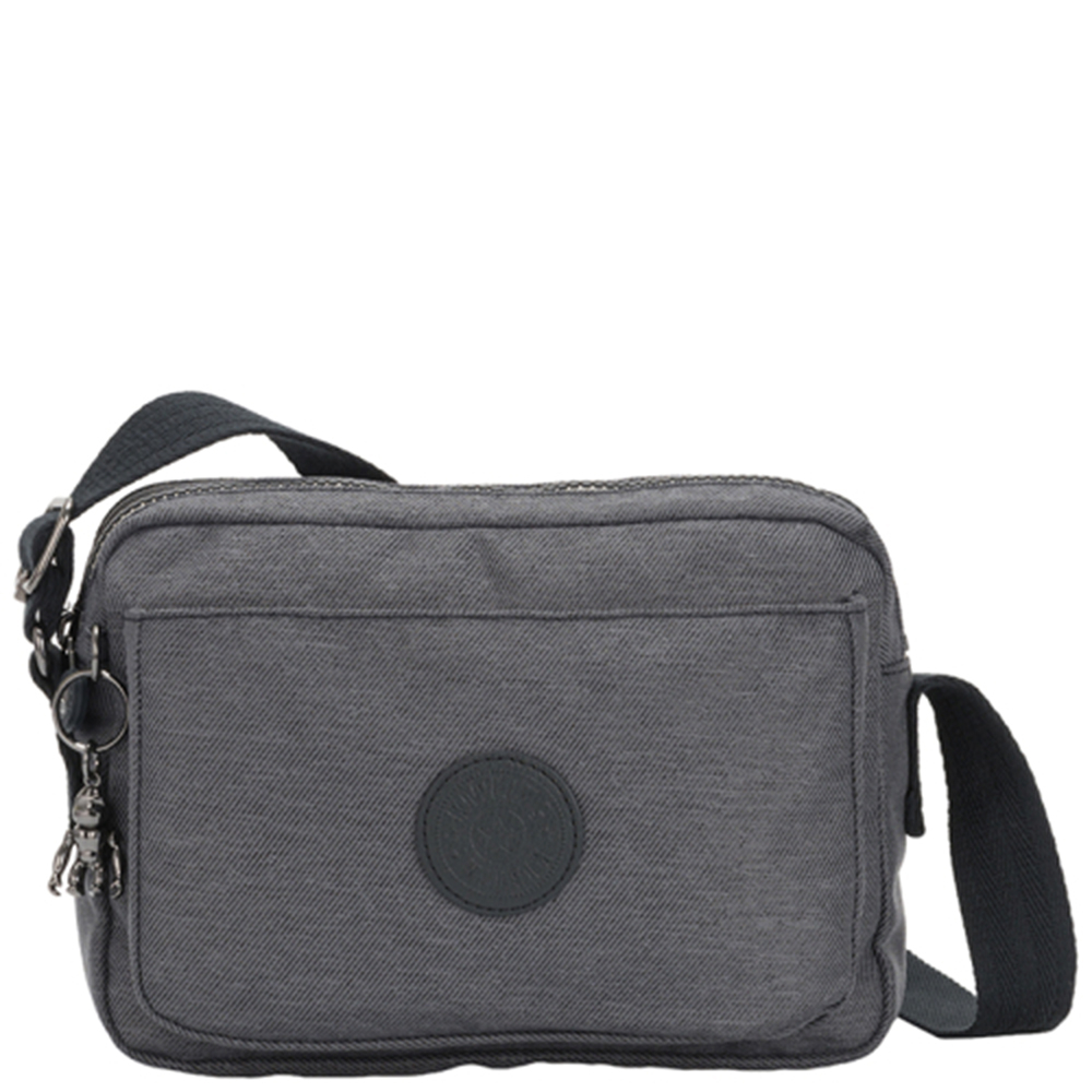 Kipling Abanu Medium Crossbody Charcoal