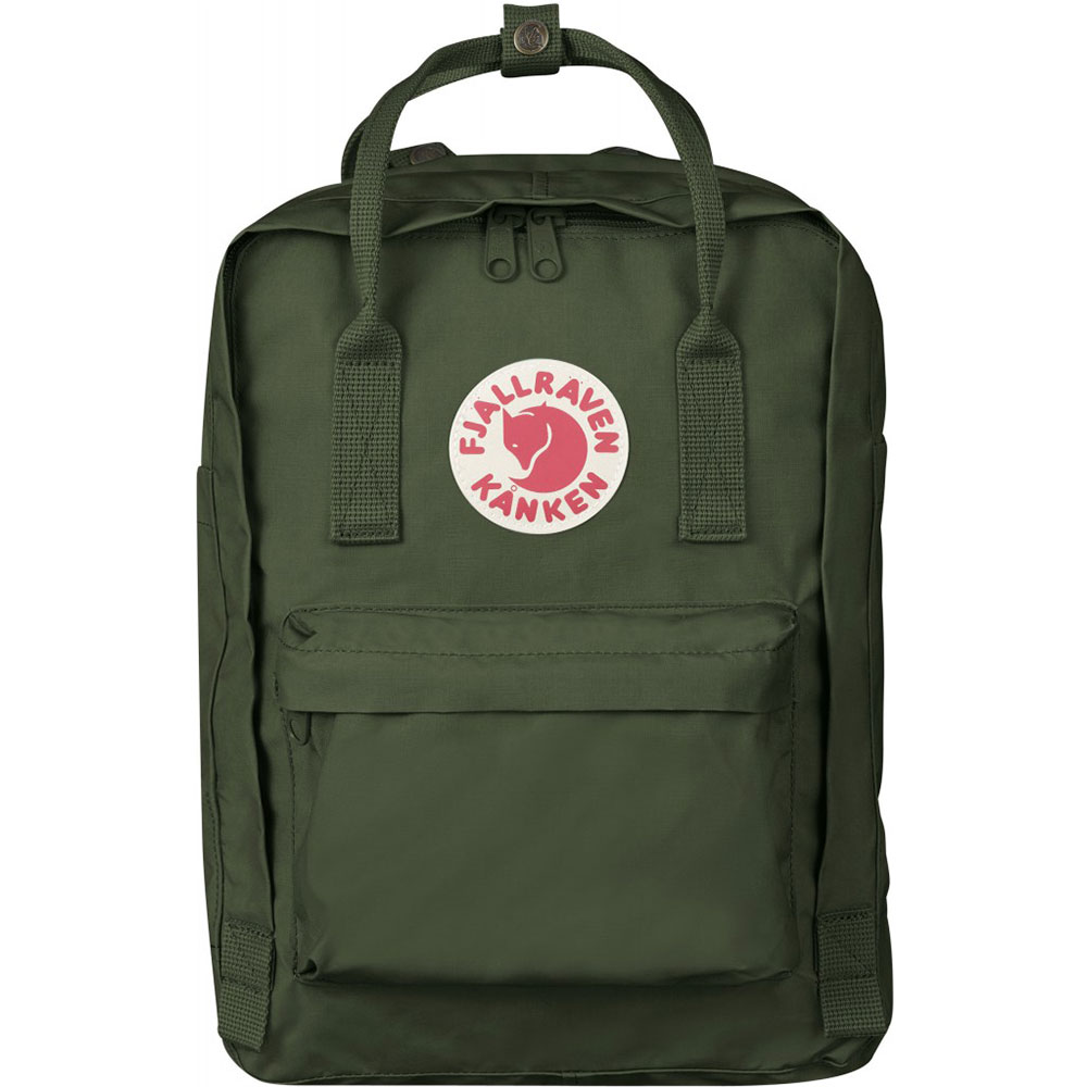 FjallRaven Kanken Laptop 13 Rugzak Forest Green