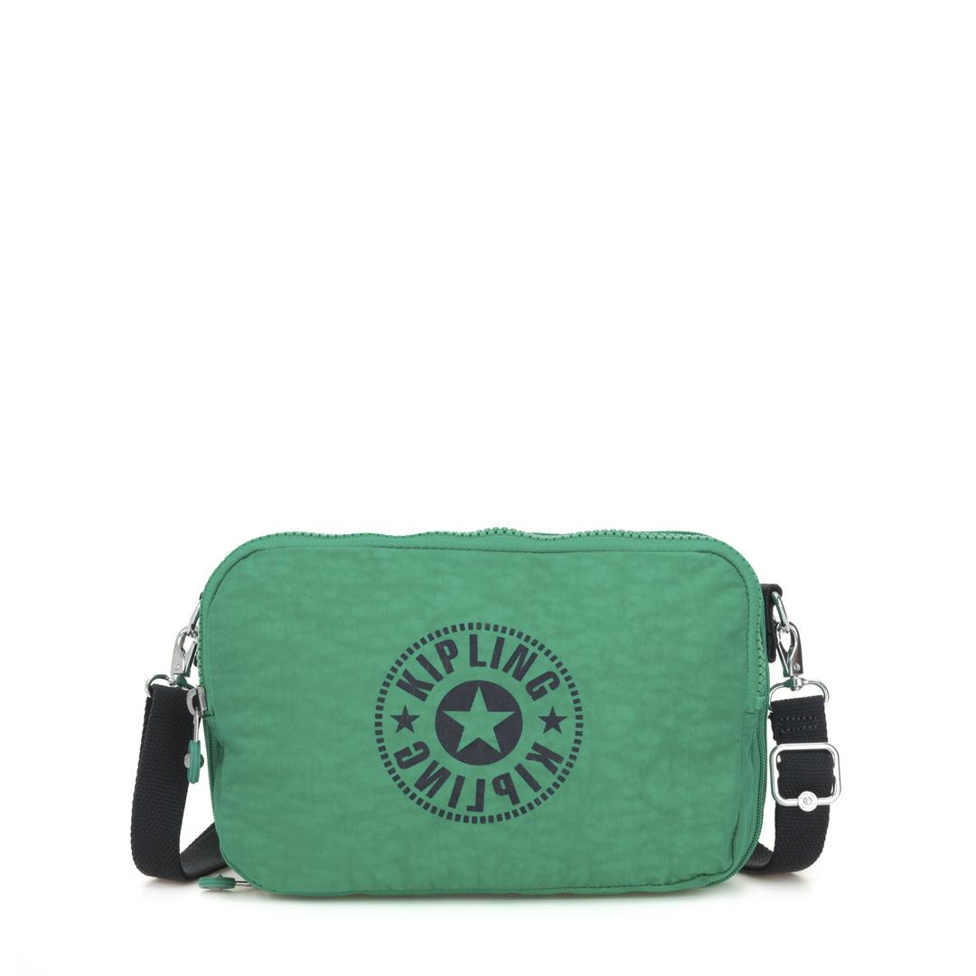 Kipling Basic Schoudertas Classic Niman Foldable Lively Green