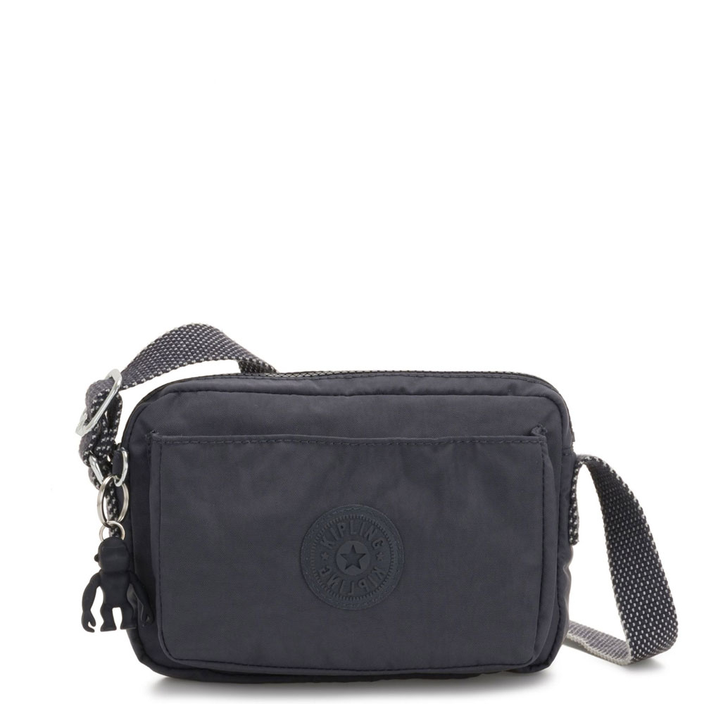 Kipling Abanu Mini Crossbody Night Grey