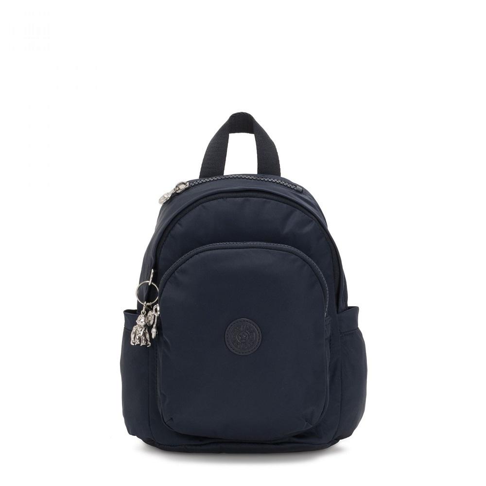 Kipling Delia Mini Backpack True Blue Will