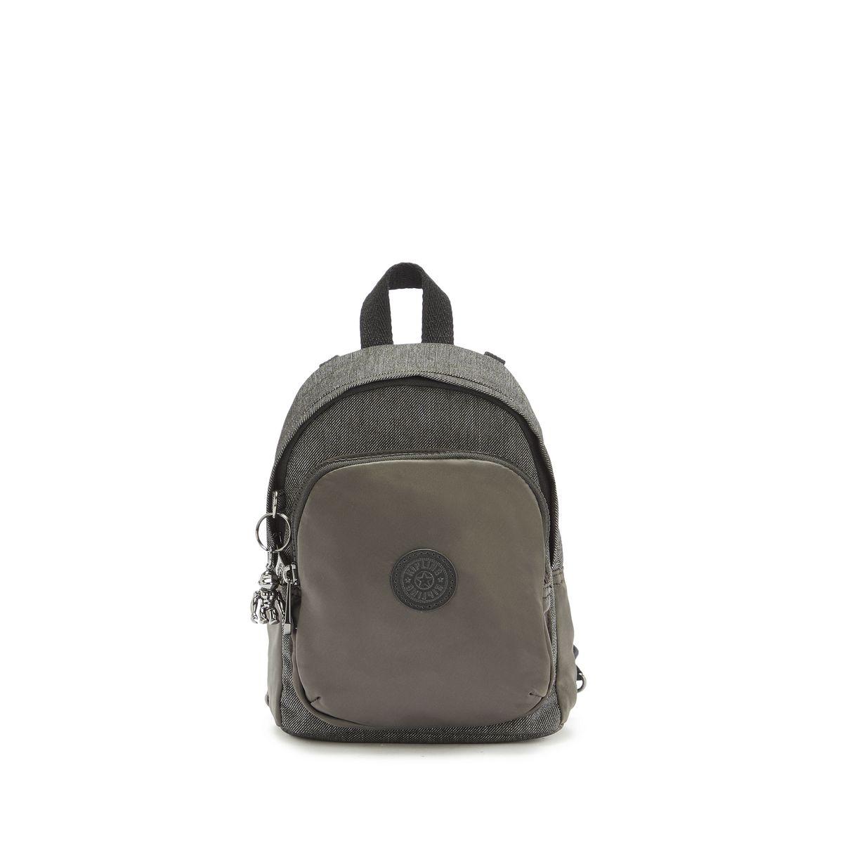 Kipling Delia Compact Small Backpack Black Pep Block