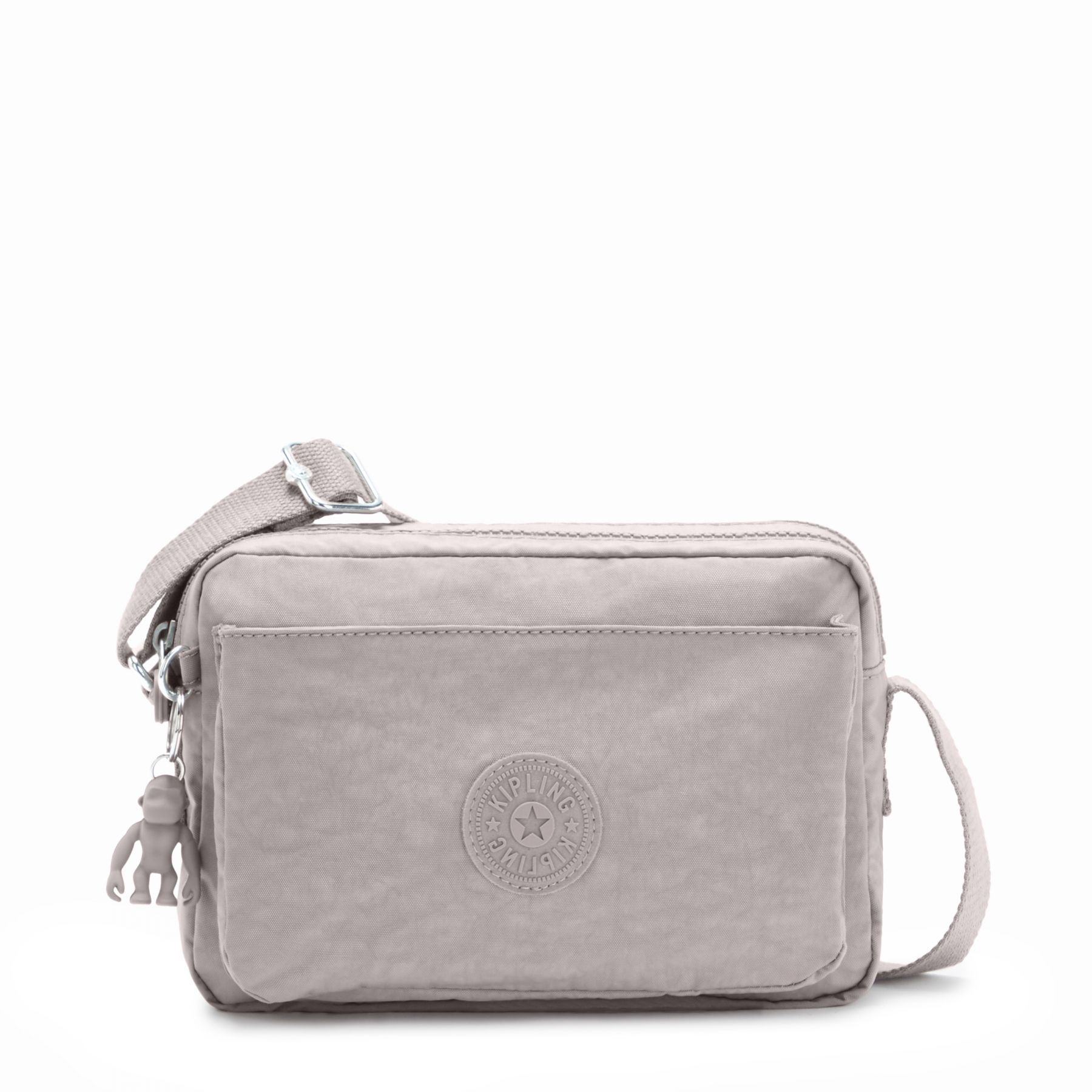 Kipling Abanu Medium Crossbody Grey Gris