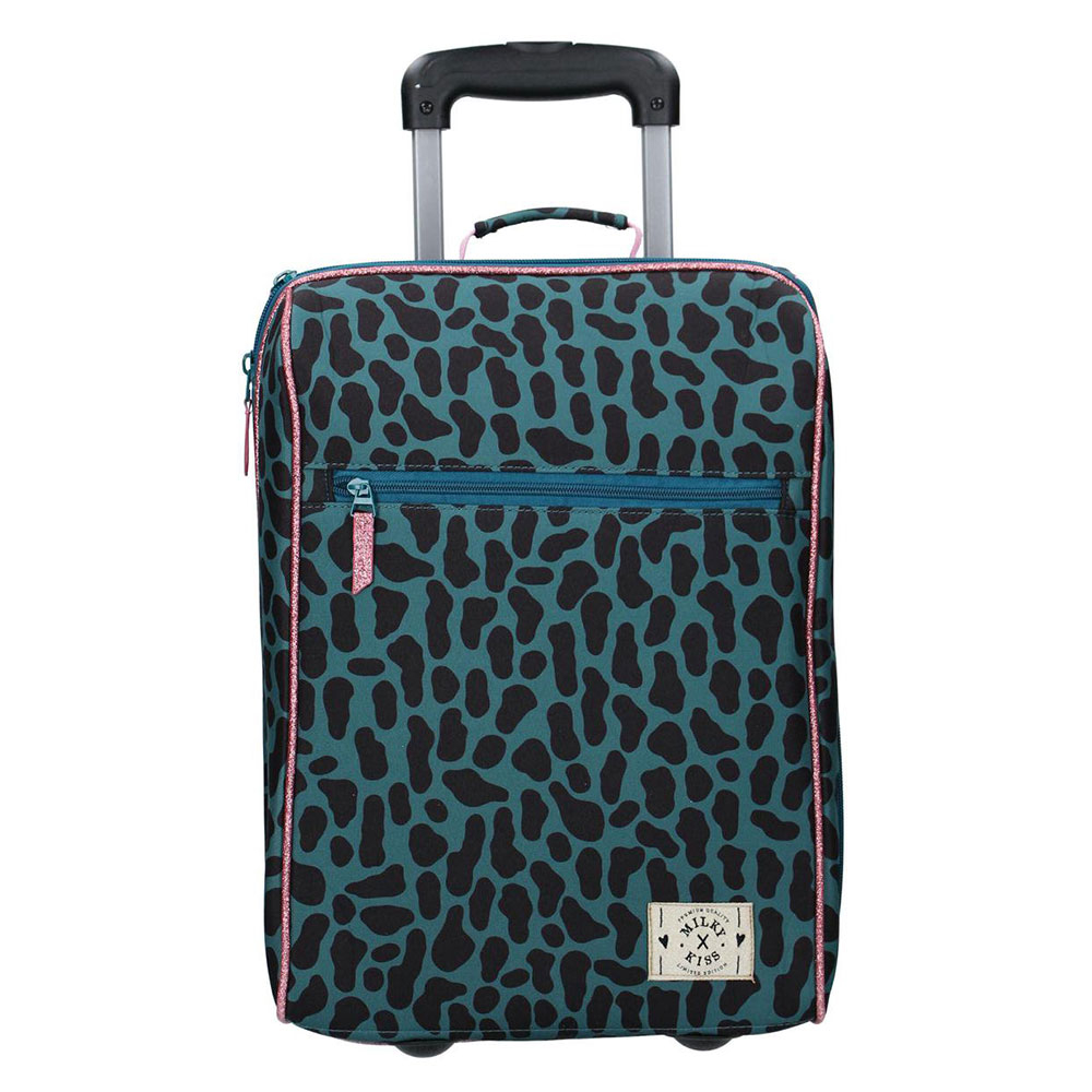 Kidzroom Handbagage Trolley 2 Wheels Milky Kiss Time To Travel