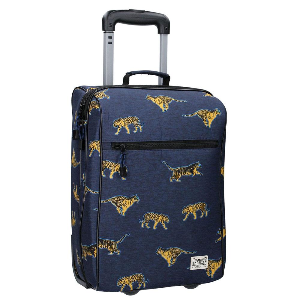 Kidzroom Handbagage Trolley 2 Wheels Skooter Time To Travel