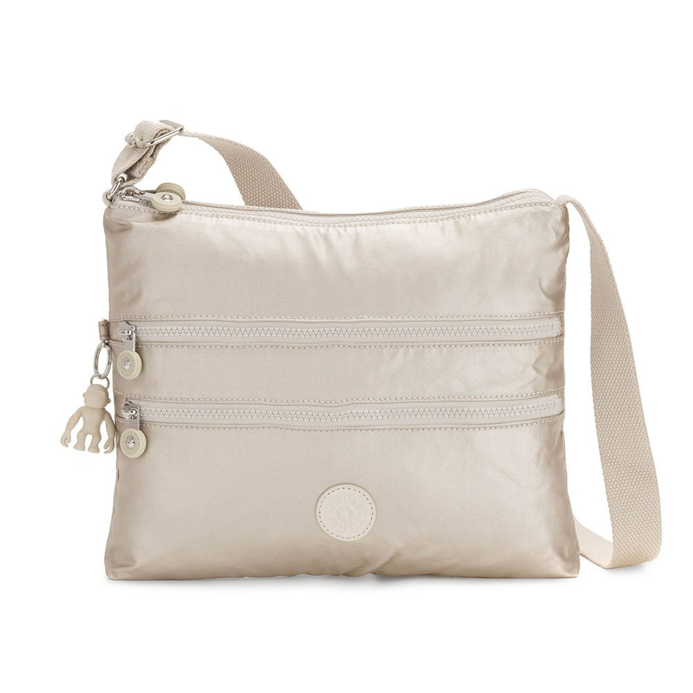 Kipling Alvar Schoudertas Cloud Metal