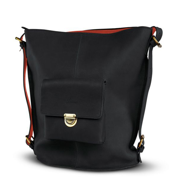 Laauw Tbilisi Rustaveli Shopper Black-Copper